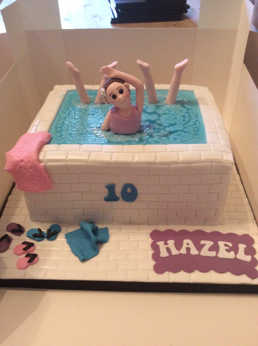 Peachy Jackie Hendry Snp Ar Twitter Hazels Synchro Birthday Cake By Birthday Cards Printable Inklcafe Filternl