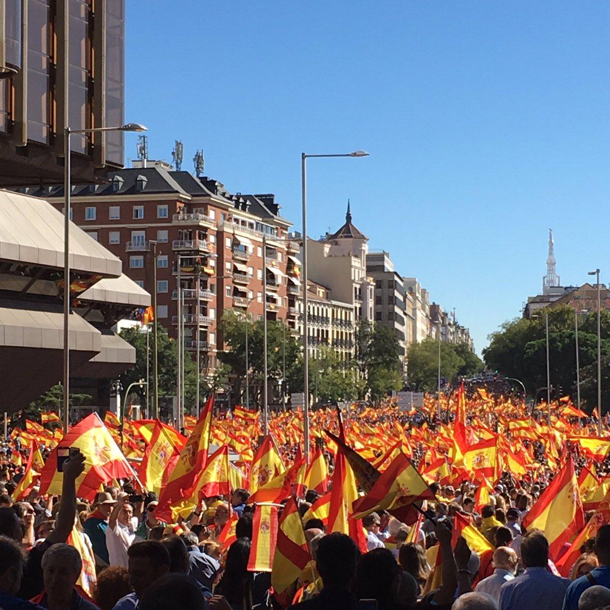 Madrid ahora. Han despertado a un tigre...
