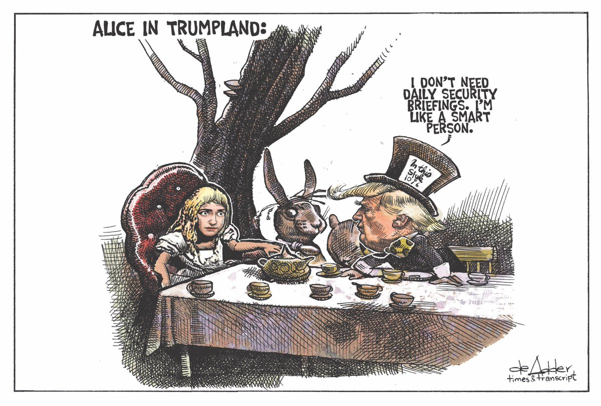 Image result for Alice in Trumpland