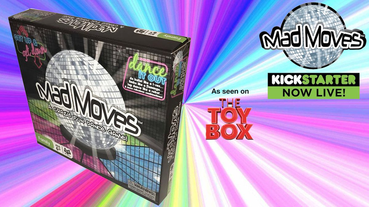 Mad Moves A Crazy Fun Dance Game  https:// youtu.be/3UmSK6qU49Q  &nbsp;   #game #YouTube #dance #cool #Kickstarter #familytime #FolloMe #partygame #kickstartergames #MadMoves <br>http://pic.twitter.com/wi8P5DIT2B