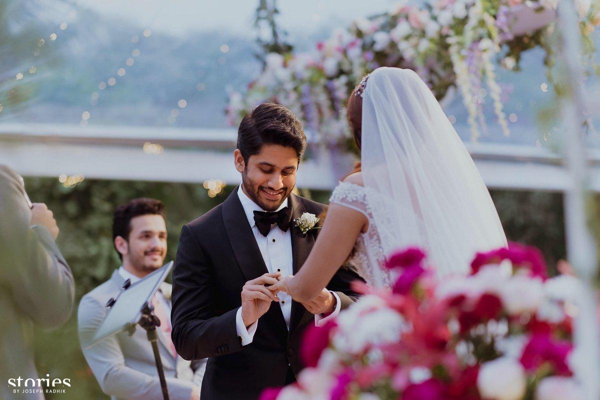 EXCLUSIVE PHOTOS: Naga Chaitanya and Samantha Christan Wedding Gala!