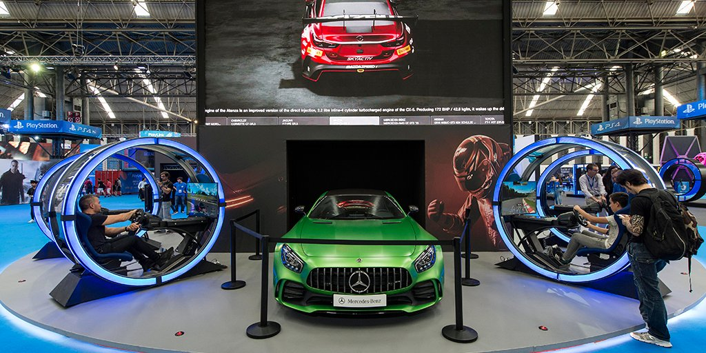 GT Sport en Barcelona Games World 2017