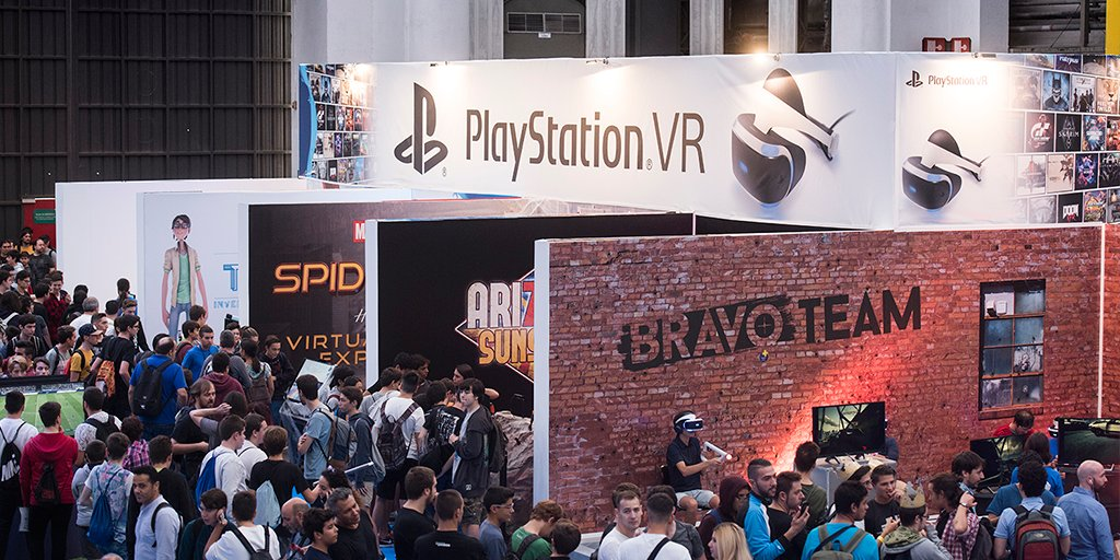 PlayStation VR en Barcelona Games World 2017