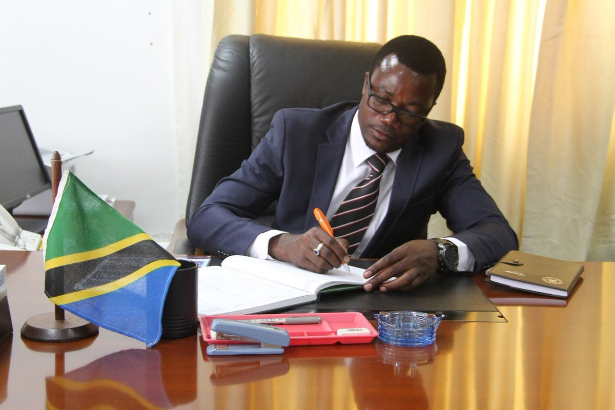 Image result for Images of Luhaga Mpina Signing