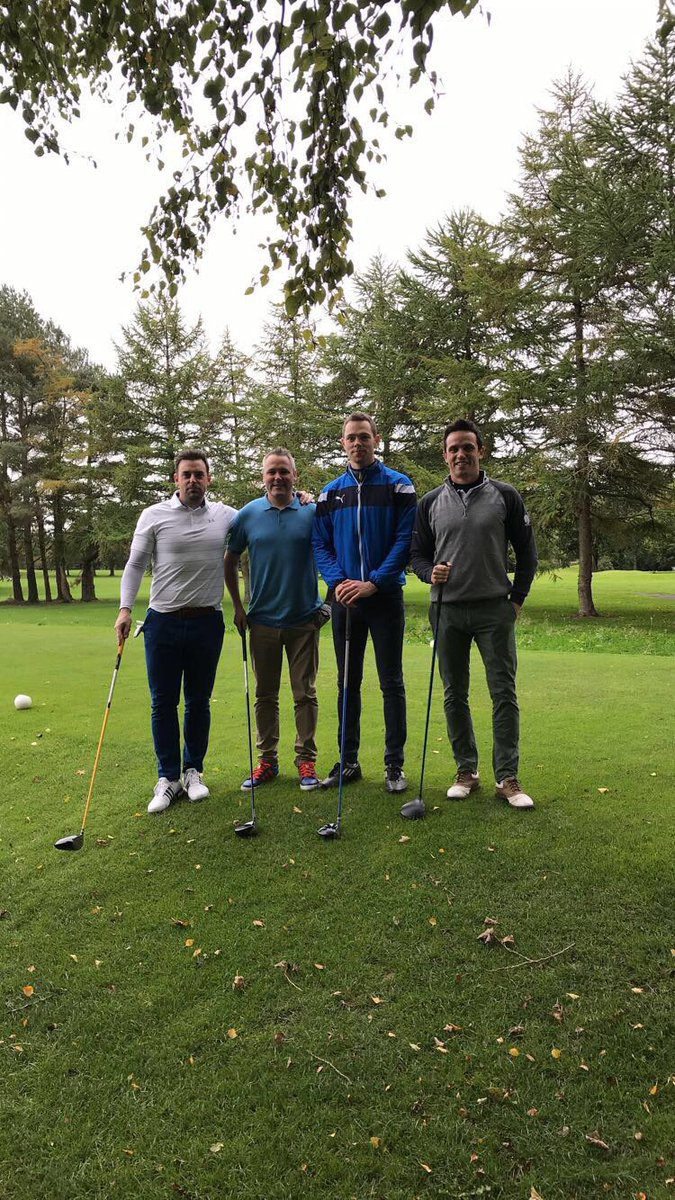 Some sharp shooters! Great day at the @Dunderry_Gaa Golf Classic. #Hunks #Fore #PinHigh #Shape #DeanosBananna #Attack #SixUnder<br>http://pic.twitter.com/SOKyK23znk