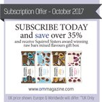 Subscribe to OM Yoga this month and receive a @squirrelsisters raw bars gift box! Subscribe now: https://t.co/CwAqp0850K #omyogamagazine
