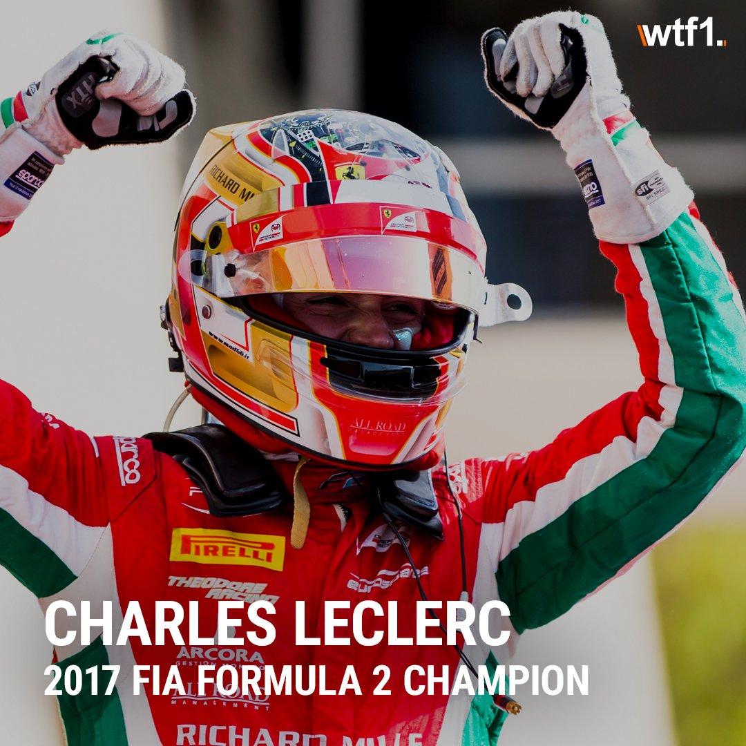 Congratulations @Charles_Leclerc @FIA_F2 champion! #FIAF2