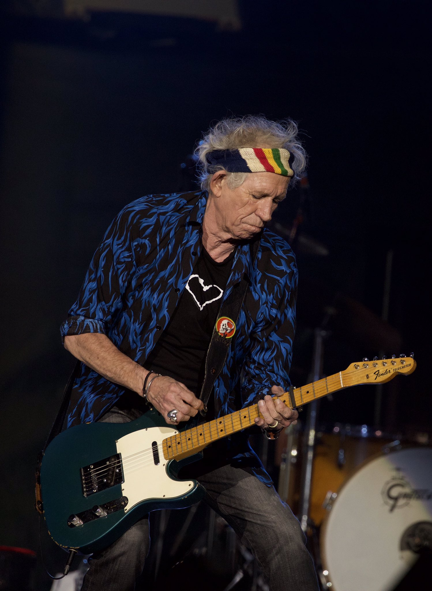 """Keith Richards Telecaster >> Keith Richards on Twitter: """"Lucca, Italy! #StonesNoFilter #stoneslucca (📷: J. Bouquet)…"""