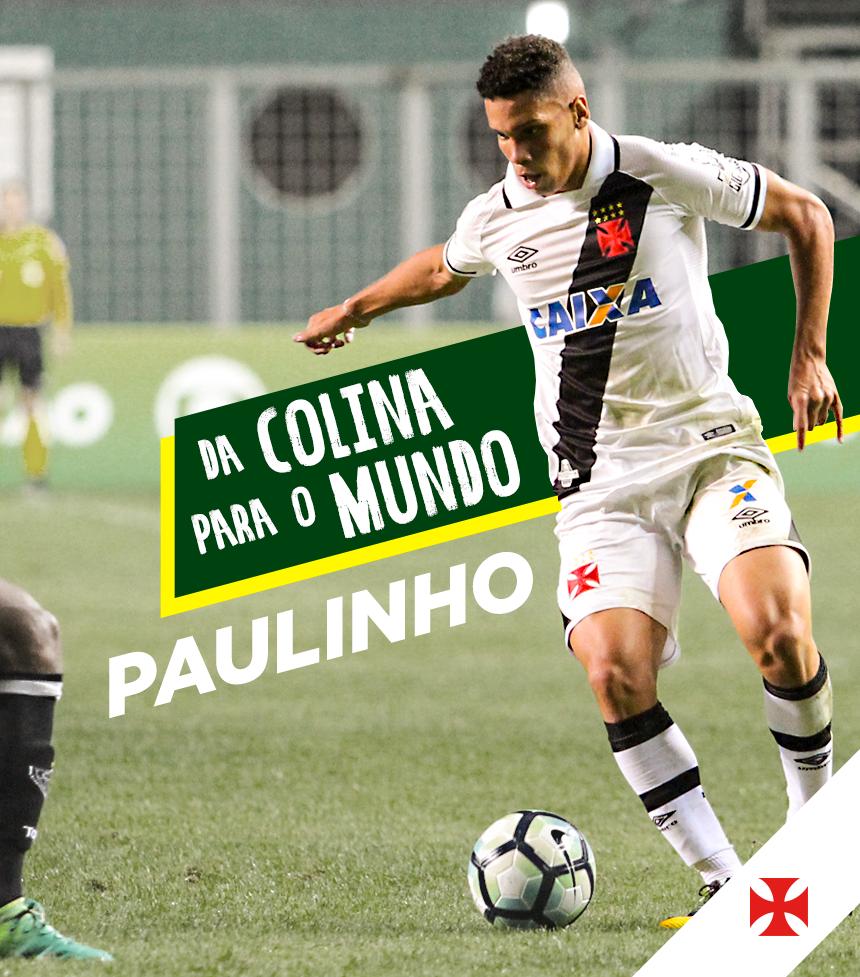DA COLINA PARA O MUNDO! @paulinho_ph00 marcou o gol da vitória da Seleção Brasileira na estreia do Mundial Sub-17! #RaizÉSerVasco