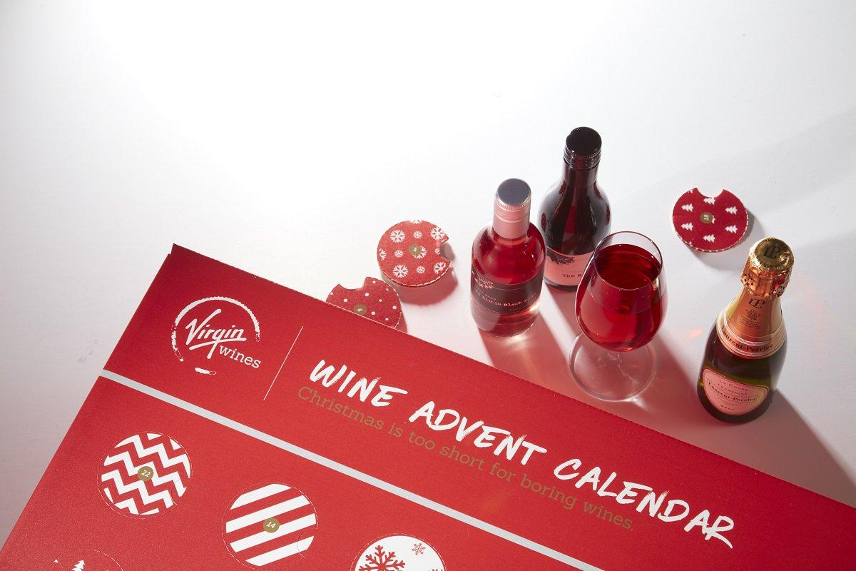 Virgin Wines Advent Calendar.Dave Roberts Dr Virginwines Twitter