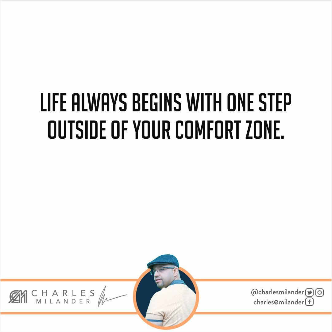 Life always begins with one step outside of your comfort zone. #working #founder #startup #money #magazine #moneymaker #startuplife #success<br>http://pic.twitter.com/zcaVHfhjy0