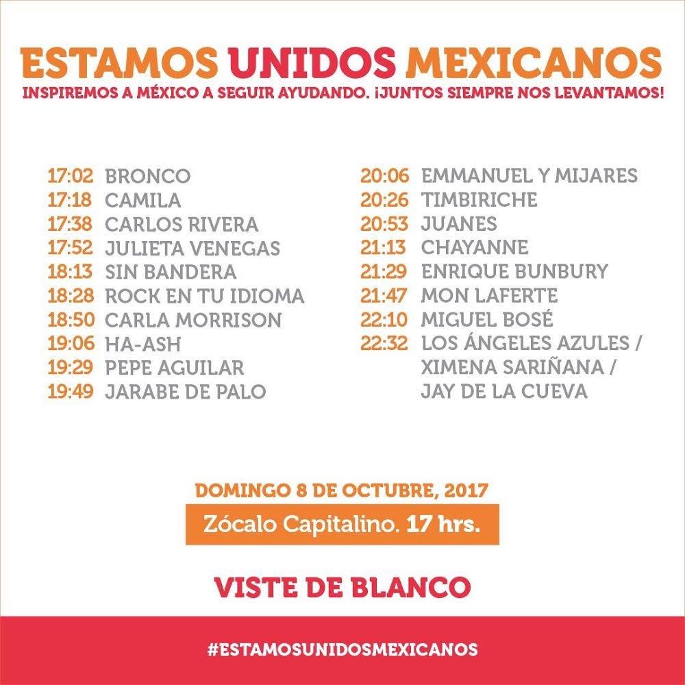Mañana! #EstamosUnidosMexicanos https://...