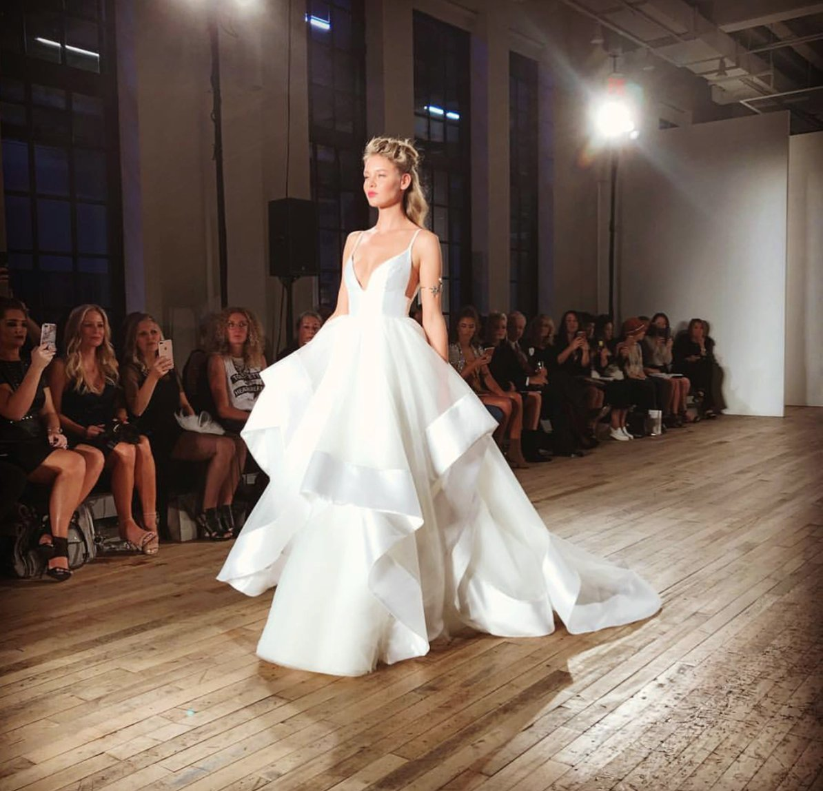 Wow! Day 2 of #bridalfashionweek brought so many beautiful designs! #nybfw #bridalmarket #bridalgown #bridalfashion #bridesofaustin https://t.co/LbiTbZz5il