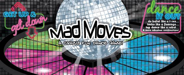 NOW LIVE ON KICKSTARTER: Get up and get down with Mad Moves an insanely fun party game where you dance out hilarious combinations. #MadMoves <br>http://pic.twitter.com/zJFGyXLINq