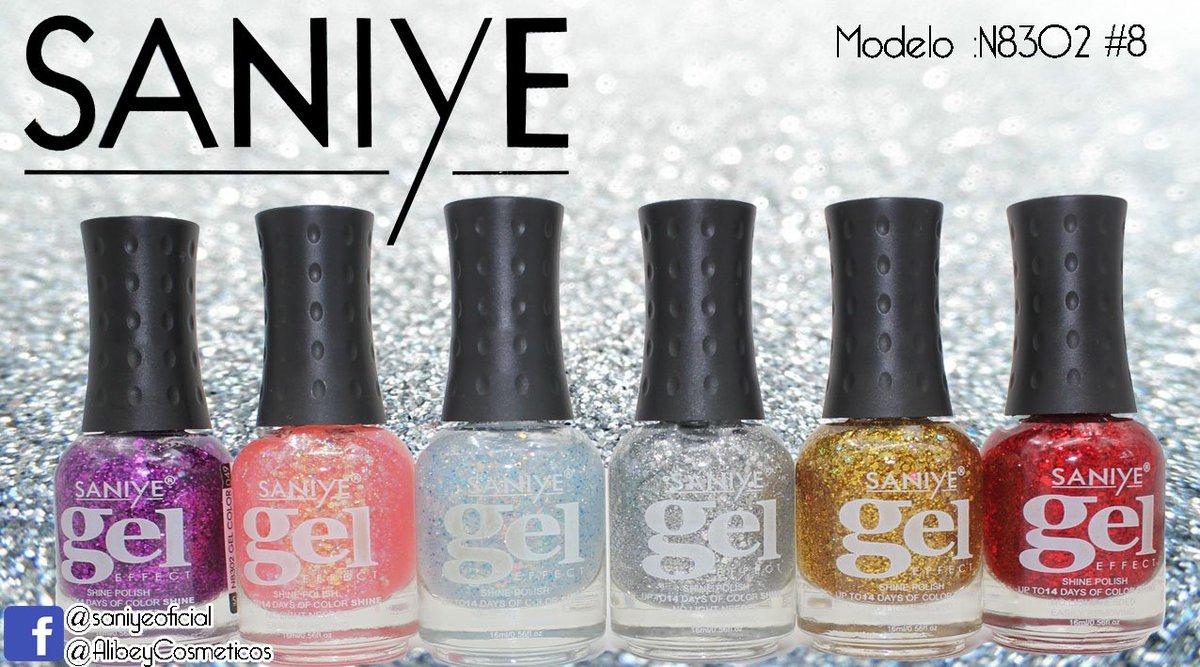 Saniye Cosmetics على تويتر Esmalte Para Uñas Glitter Gel