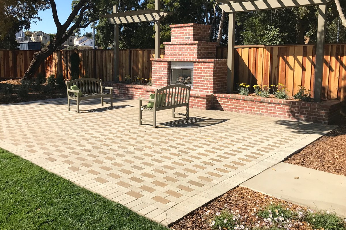 Outstanding Wine Country Pavers On Twitter Beautiful Backyard Project Home Remodeling Inspirations Genioncuboardxyz