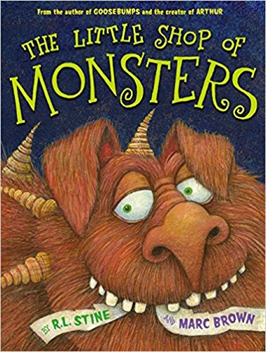 Happy birthday R.L. Stine! We\ll be enjoying your spooky books this October!