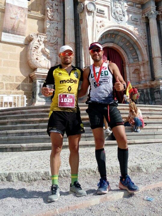 mobel sport on twitter pedro agustin moran 1 y nuestro alberto plazas mobelsport automenor running team 2 en los 90kcaminodelacruz