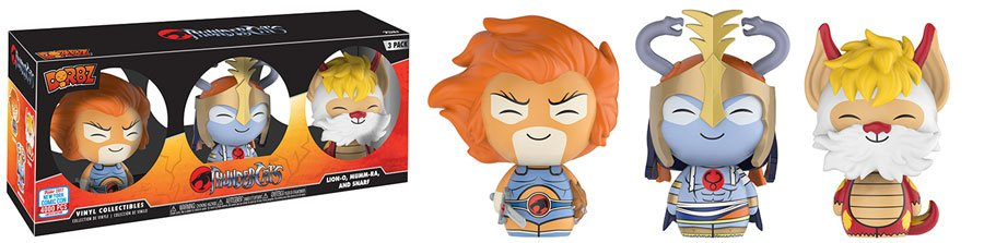 RT & follow @OriginalFunko for the chance to win an #NYCC 2017 exclusive ThunderCats Dorbz 3-pack!