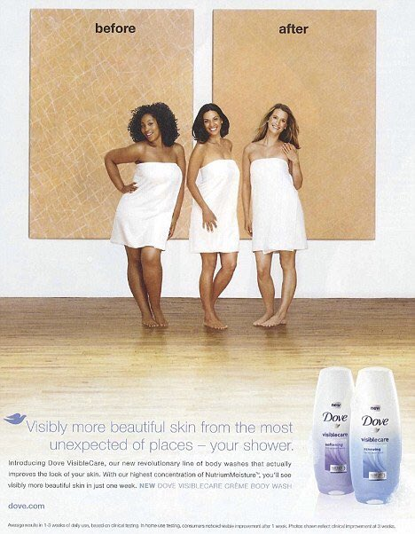 introduction of dove soap