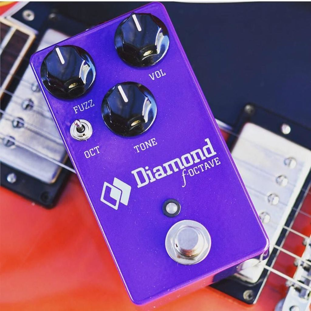 Diamond Pedals On Twitter The F Octave Fuzz Sitting Octaver Guitar Effects Up A 335 Taken With D500 And Micro Nikkor 60 Mm