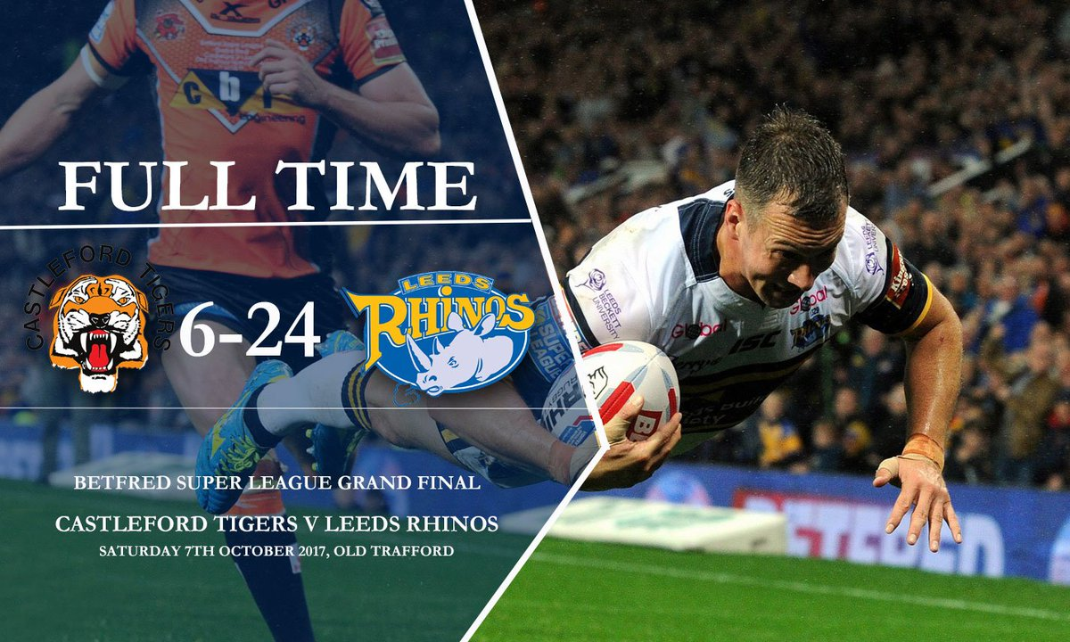 We have done it! We are the 2017 Betfred @SuperLeague Champions for the 8th time! https://t.co/1R6Nhh0mTi