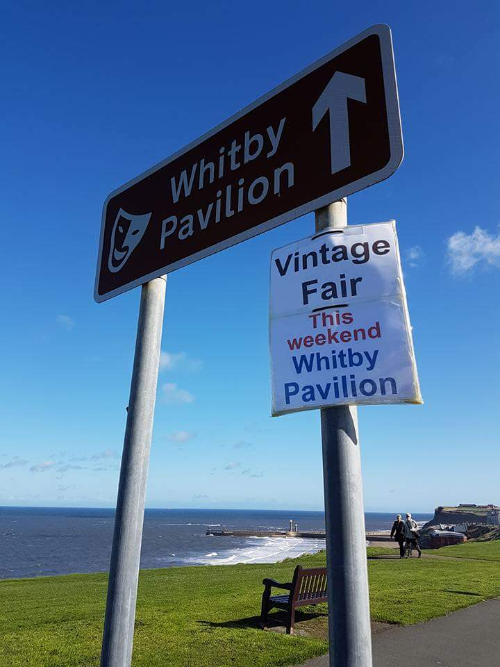 Back at @Whitbypavilion TOMORROW (Sunday) The October Seaside #Vintage Fair. #gotvintage #vintagefamily #vintagefair #sundayfun #sundayideas<br>http://pic.twitter.com/pAme0umPCY