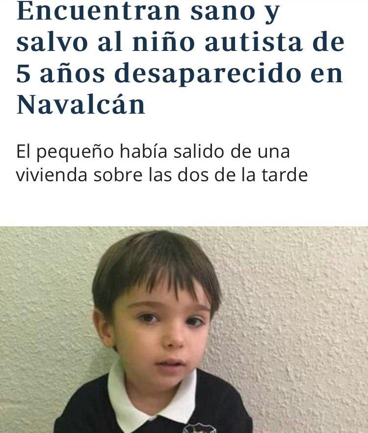 Encuentran Sano Y Salvo Al Niño Autista De 5 Años Desaparecido En d75c1900ee3