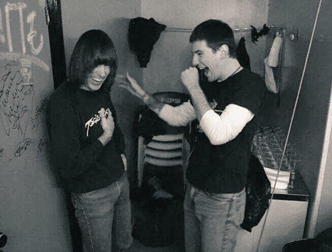Happy Birthday Johnny RAMONE&CJ RAMONE