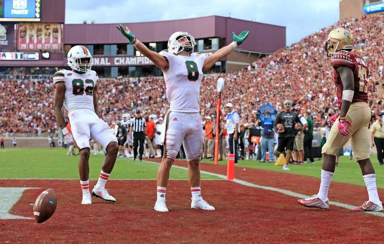 Berrios on sweet redemption performance in win over FSU: 'I was ready for a moment' https://t.co/XgqRLcxib9 https://t.co/a85zFKeG01