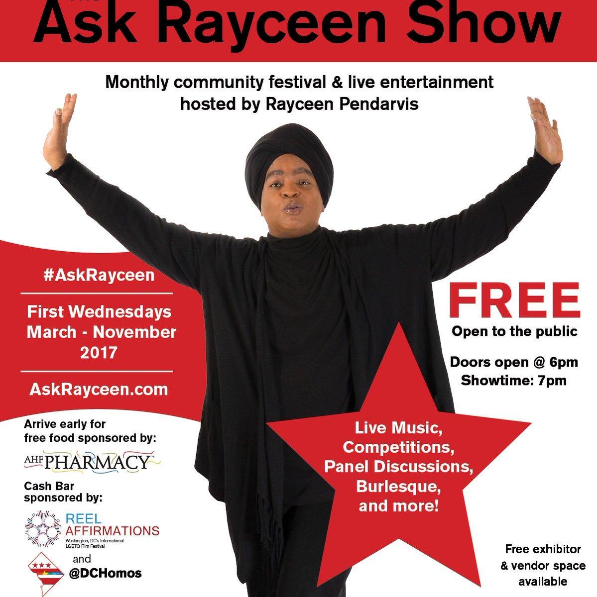 #imthankful4 @AskRayceen Show (Oct 4) contestants, volunteers and attendees! @RayceenHRH @TeamRayceen #HRCequalityCenter #DCevent #ZONEMD<br>http://pic.twitter.com/b9YbcPdeOF
