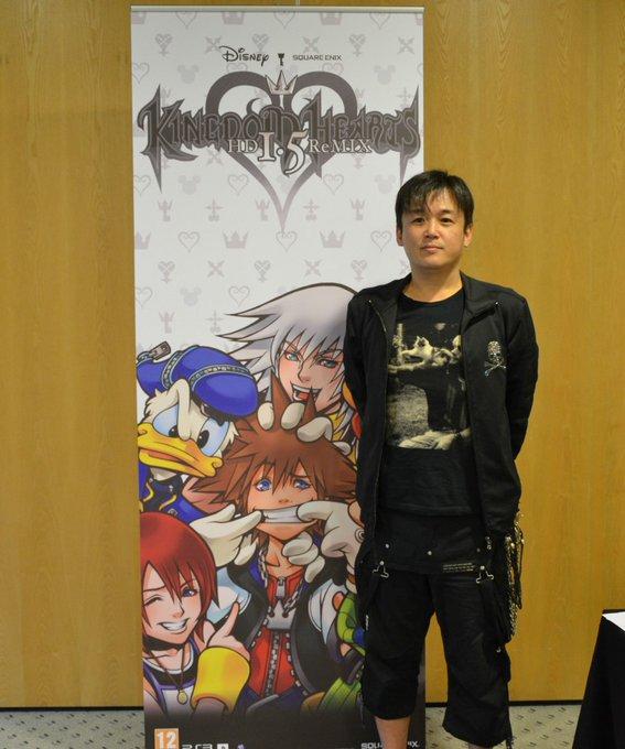 Happy Birthday to Tetsuya Nomura!