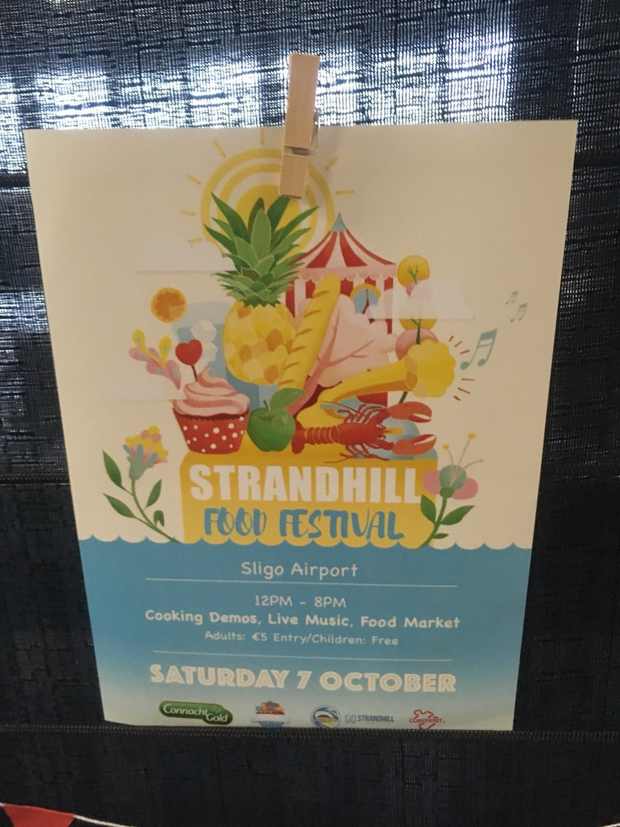 Latergram kudos tweet to say well done to @almulrooney, Niamh & the @StrandhillSPM team for a brilliant event at #StrandhillFoodFest today <br>http://pic.twitter.com/Pz8uCLo4QB