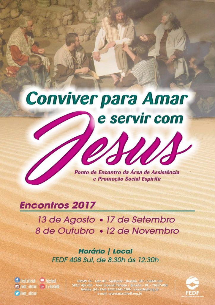 Ponto de Encontro da Área de Assistência e Promoção Social Espírita, F...