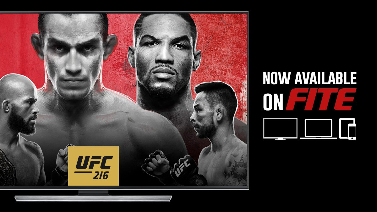 Ive got Ferguson & Borg for the main and co-main, who you got? Ill be streaming with @FITETV goo.gl/QCJ5pw #UFC216