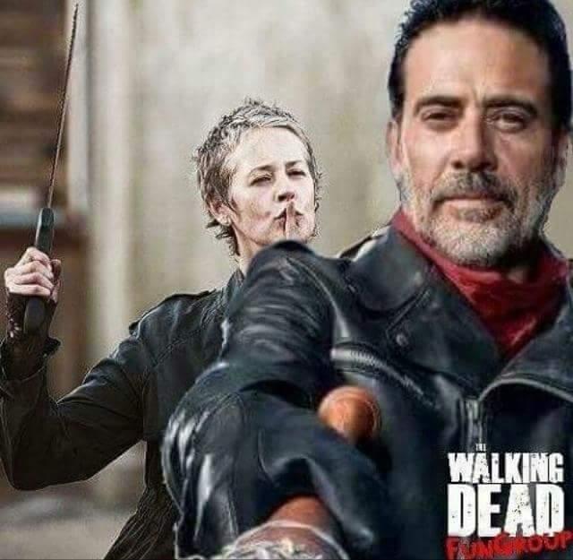 Daryl i Carol się połączą