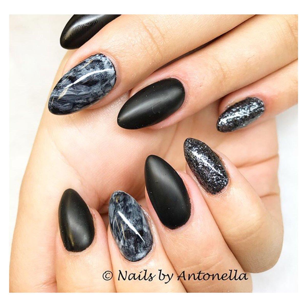 Pillarssalon On Twitter Nails By Antonella Gelnails Envoguenails Envogue Black Grey Marble Glitter Sparkle Burnaby Theheights Yvrnails Yvr Https T Co Kteuxpp8ly