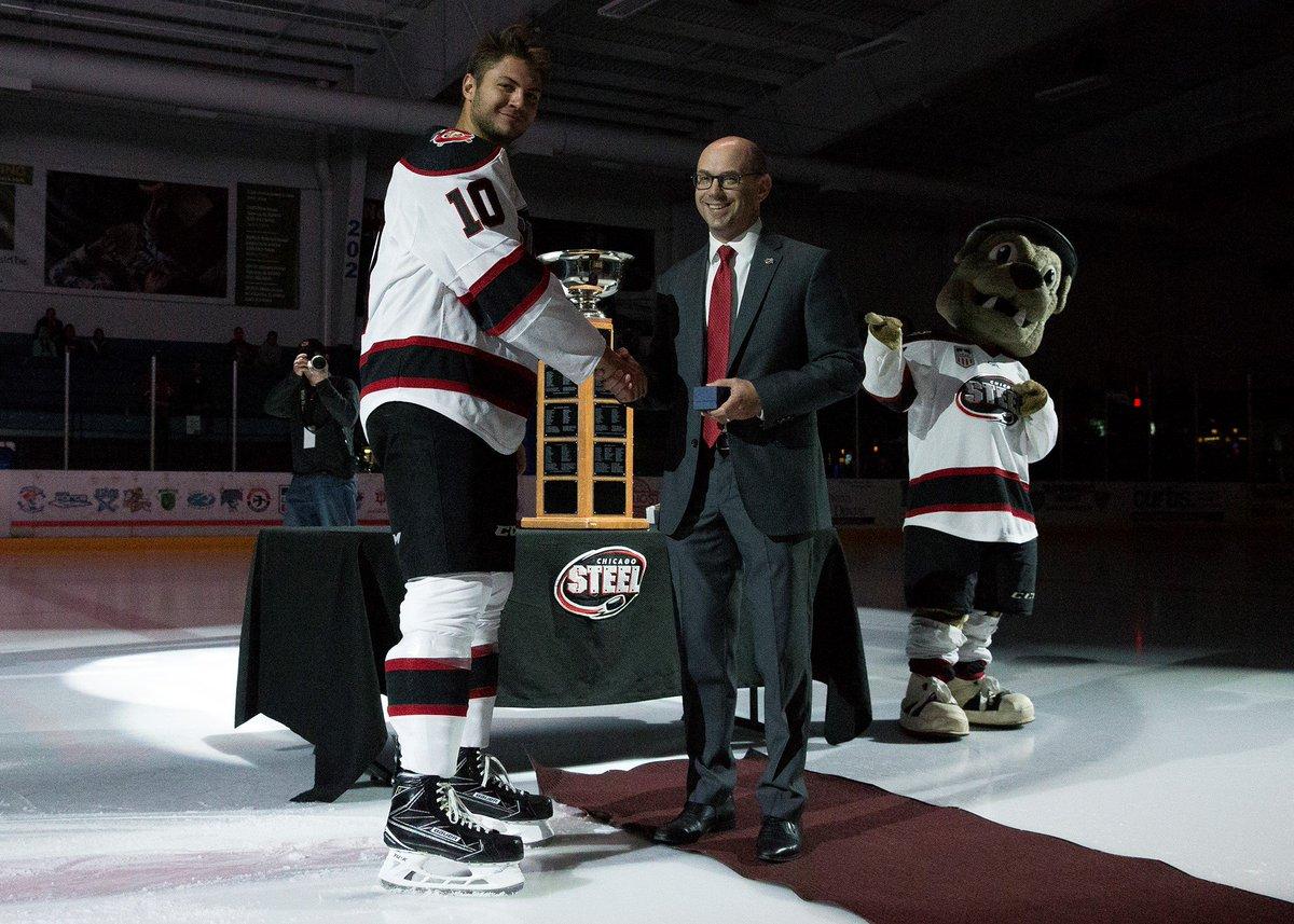 USHL: Steel Captain Derek Daschke Commits To University Of Nebraska Omaha