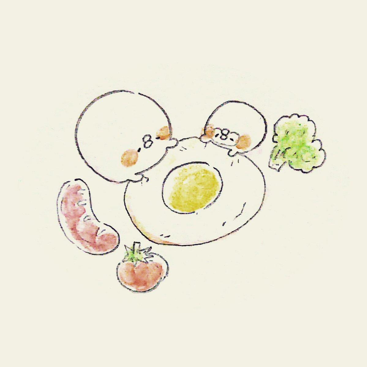 てんみやきよ On Twitter お昼ご飯食べ終わりイラスト イラスト お