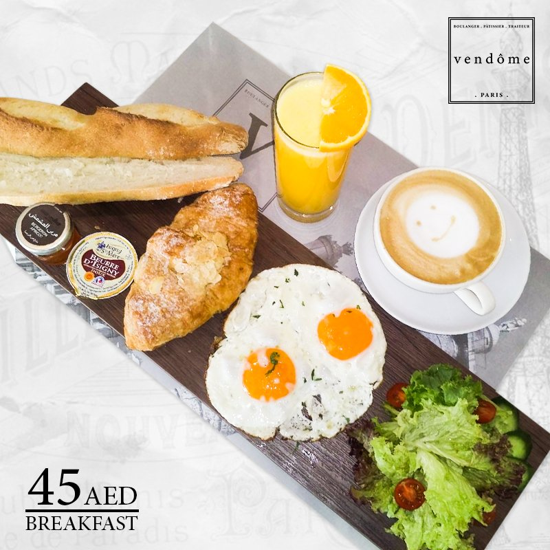 #BreakfastOfferAlert  #Get 20% #discount on well-deserved #Parisien# breakfast. *Offer valid Only #weekdays from 7:00 am to 11:00 am only.<br>http://pic.twitter.com/tWZKLSZiTV