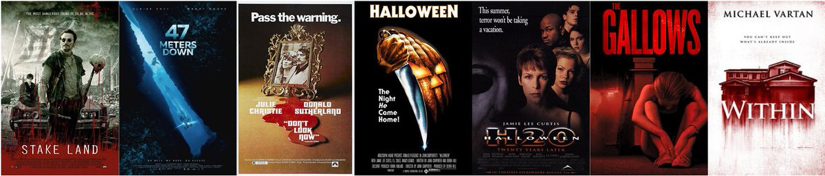 Week 1 of #31DaysofHorror is complete! Taking suggestions for obscure horror movies to check out in Week 2...