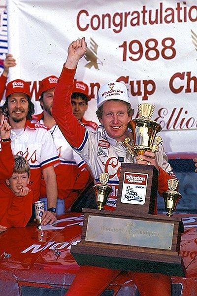 Happy 62nd Birthday to 1988 Winston Cup Series Champion Bill Elliott