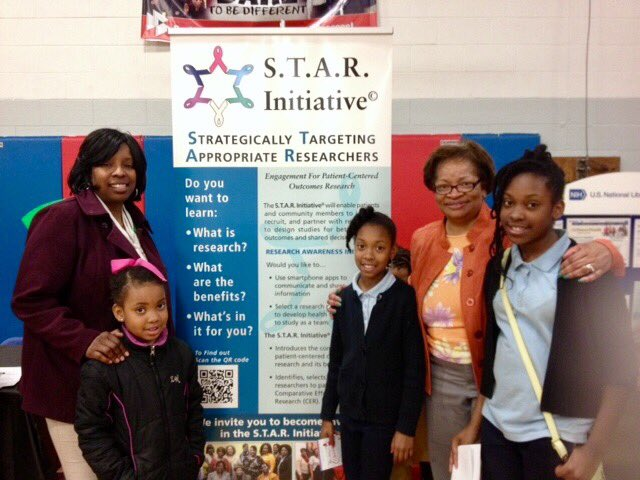 @PCORI @PCORnetwork #juniorscientists #researchengagement #africanamericanchildren research done differently in the community #buildingtrust<br>http://pic.twitter.com/cU4Ppf6SeJ