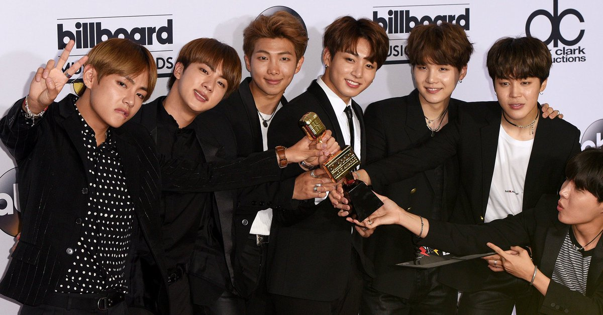 BTS earns highest spot ever on Billboard Hot 100 for a K-pop group https://t.co/ZRi63aZHja