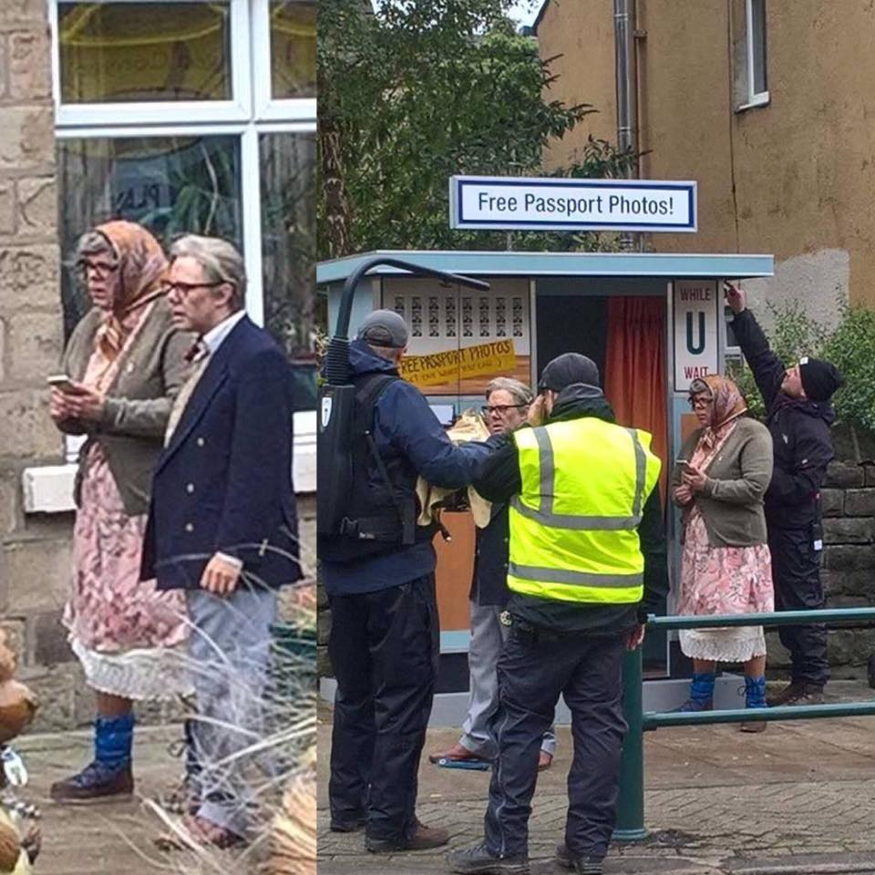 Behind the scenes of the new League of Gentlemen. 😍  Are they local? https://t.co/bwWEM8nJHR