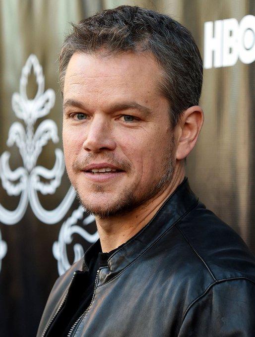 Happy birthday Matt Damon ans