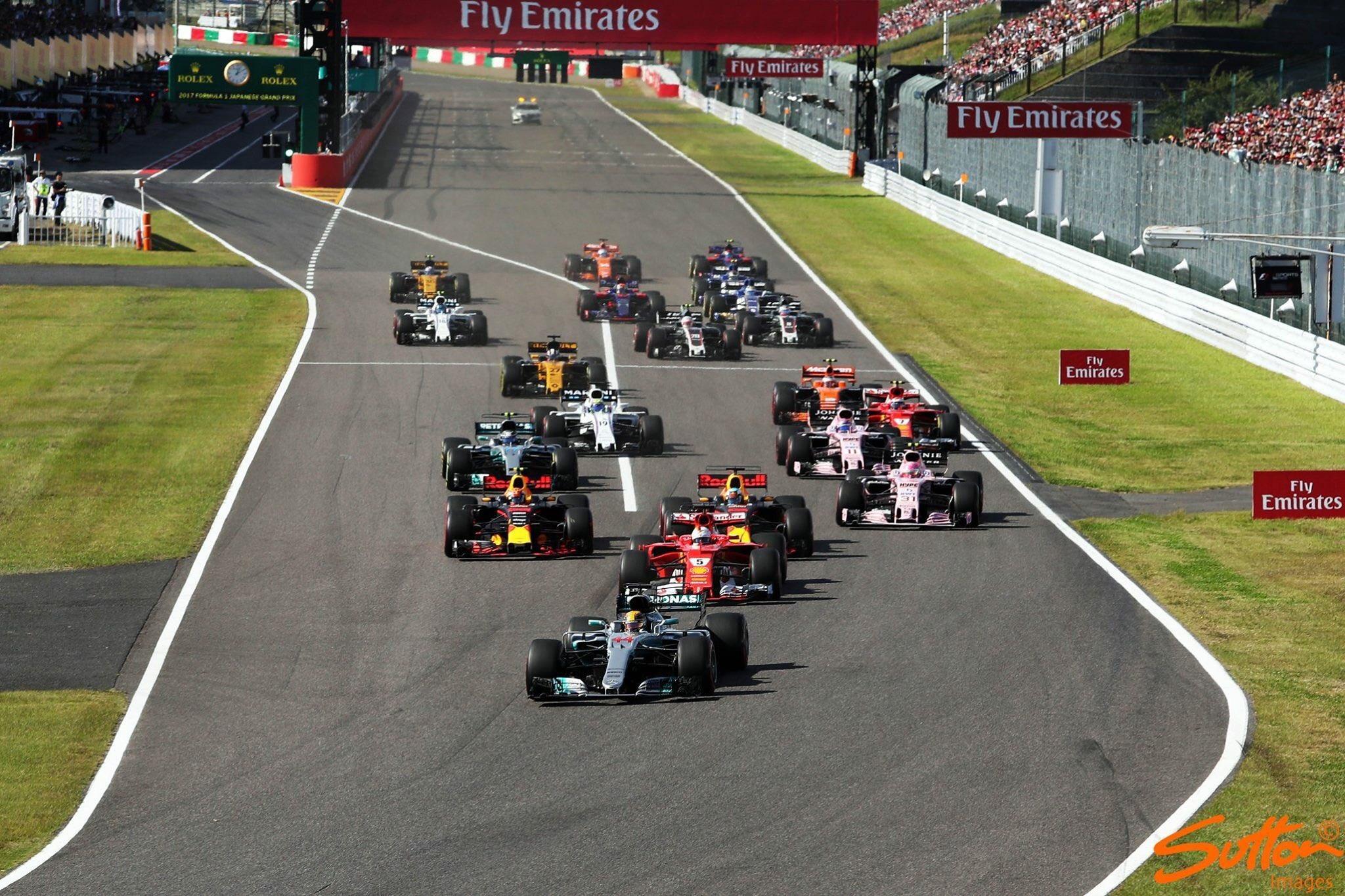 Japán Nagydíj: Hamilton nyert, Vettel kiesett, Kimi az ötödik!