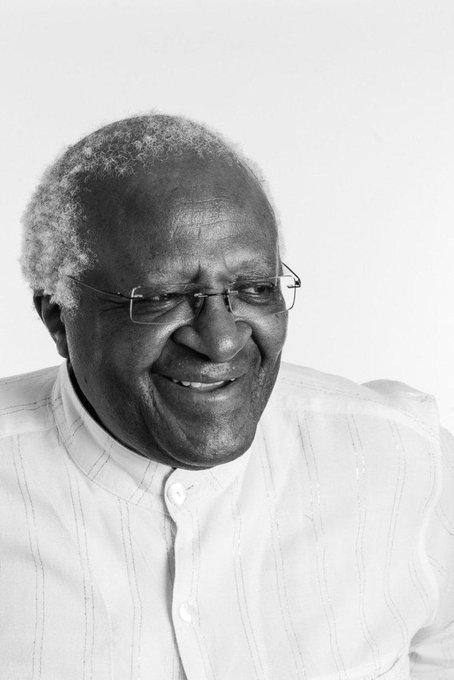 Happy birthday Bishop Desmond Born 7 October.