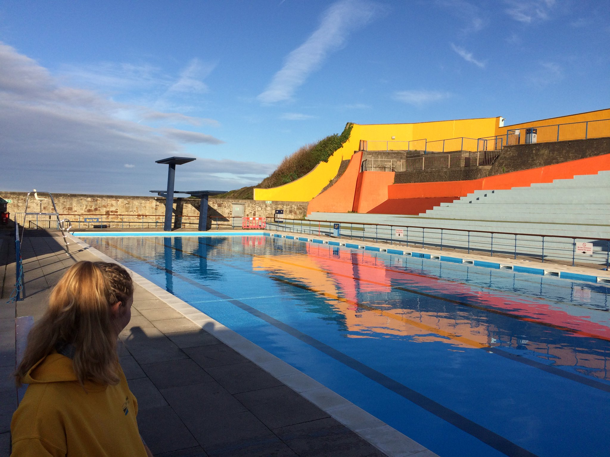 """Portishead Lido on Twitter: """"Look at the weather we've ..."""