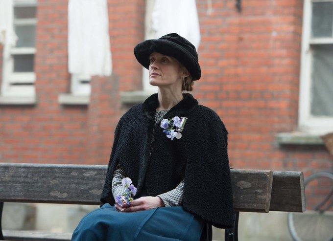 Wishing a very happy birthday to Anne-Marie Duff who played Violet Miller in Suffragette (2015)